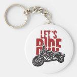 Deixa a motocicleta do passeio projetar chaveiros