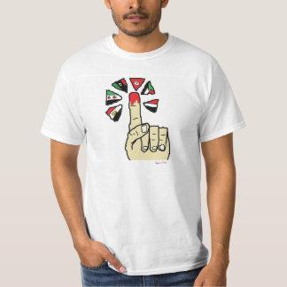Deixa a revolução do rap camisetas