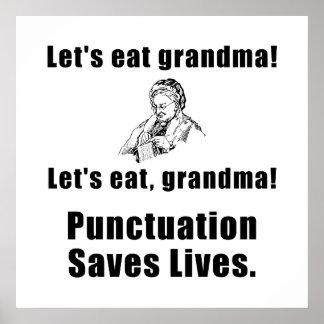 Deixa para comer a avó pôster