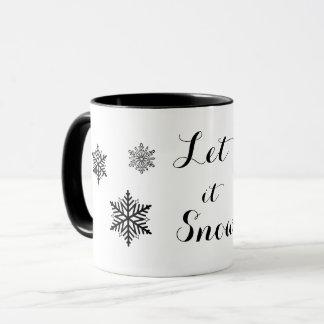Deixais lhe para nevar caneca
