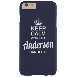 Deixe Anderson segurá-lo Capas iPhone 6 Plus Barely There
