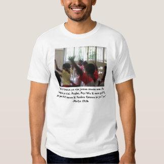 Deixe as crianças pequenas vir-me… tshirts