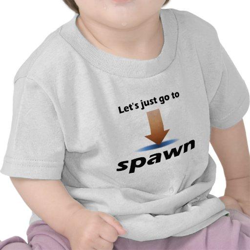 """""""Deixe-nos apenas ir Spawn"""" o produto citado Tshirt"""