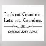 Deixe-nos comer a avó que as vírgulas salvar vidas