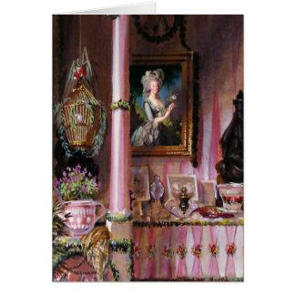 Deixe-nos comer o cartão do ~ de Marie Antoinette