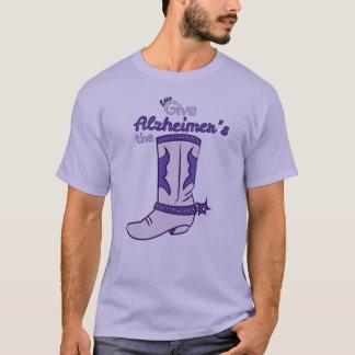 Deixe-nos dar a camisa da bota #2 de Alzheimer