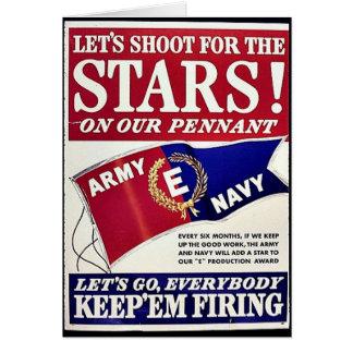 Deixe-nos disparar para as estrelas em nossa flâmu cartoes