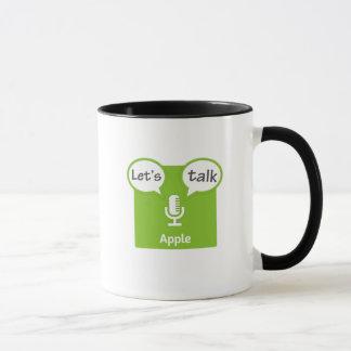 Deixe-nos falar a caneca dos Podcasts