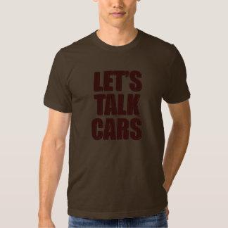 Deixe-nos falar o t-shirt da obscuridade dos