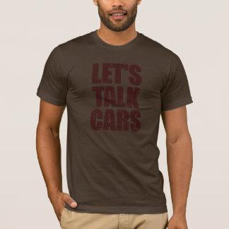 Deixe-nos falar o t-shirt da obscuridade dos camiseta