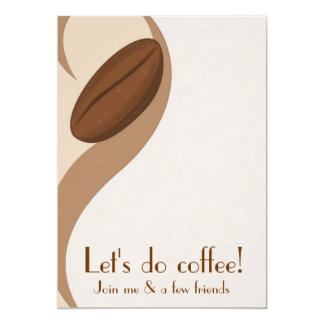 Deixe-nos fazer o convite do almoço do café