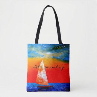 Deixe-nos ir navegar o bolsa - mercadoria de Jenny