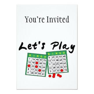 Deixe-nos jogar o Bingo