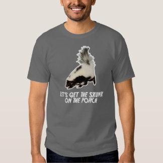 Deixe-nos obter a jaritataca no patamar t-shirt