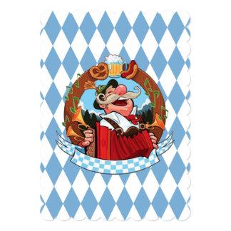 Deixe-nos Party o convite de festas de Oktoberfest