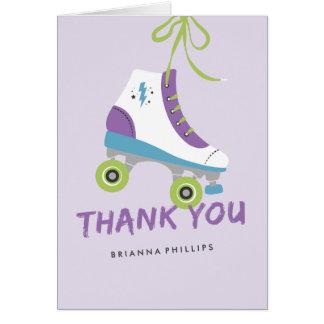 Deixe-nos rolar cartões de agradecimentos -