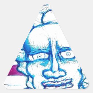 Deixe-nos sentir sobre nosso real adesivo triangular