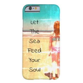 Deixe o mar alimentar suas capas de iphone da alma