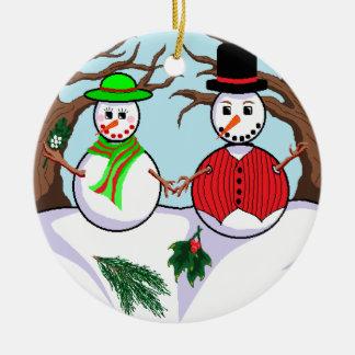 """""""Deixe-o nevar"""" ornamento"""