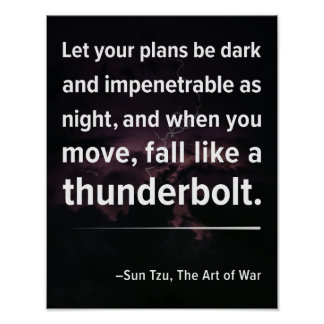 """""""Deixe seus planos…"""" Poster das citações da"""