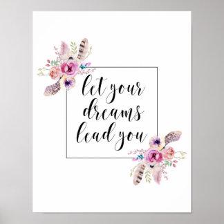 Deixe sua ligação dos sonhos você impressão