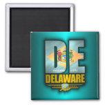 Delaware (DE) Ímã Quadrado