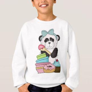 Deleites de um doce dos ursos de panda agasalho