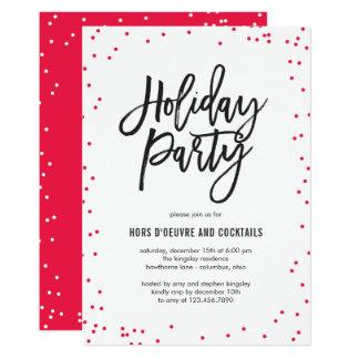 Delicado polvilha o convite da festa natalícia