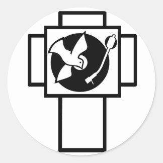 Delírio de Jesus (logotipo) Adesivo
