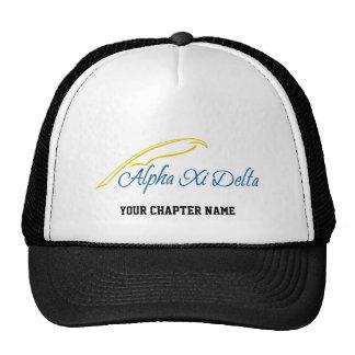 Delta do alfa Xi com Quill Boné