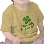 Demasiado bonito para comprimir! Criança/criança Tshirts