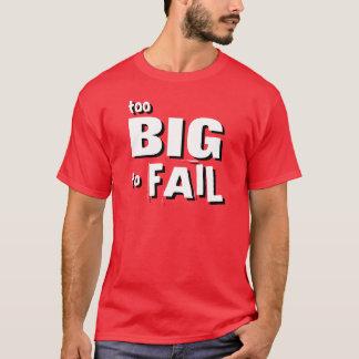 Demasiado grande para falhar a camisa
