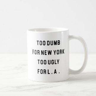 Demasiado mudo para New York Caneca De Café