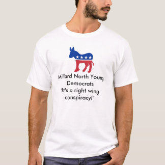 Democratas novas camiseta