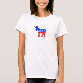 Democratas - unicórnio camiseta