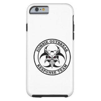 Demónio do Biohazard da manifestação do zombi Capa Tough Para iPhone 6