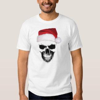 Demónio do Xmas de Papai Noel Camiseta