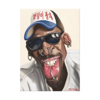 Dennis Rodman - caricatura no impressão 18 x 24