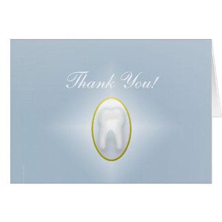 Dental delicado cartão
