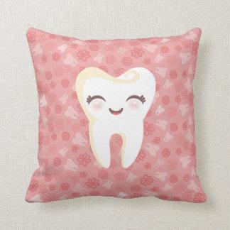 Dente bonito - travesseiro decorativo decorativo c