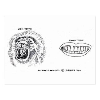 Dentes Cartão Postal