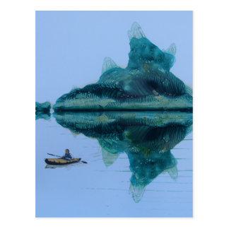 Dentes esmeraldas cartão postal