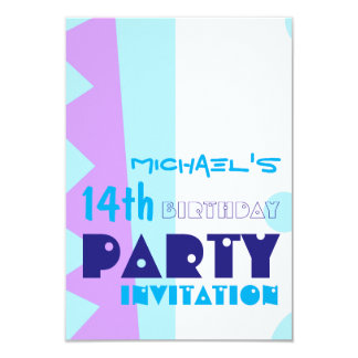 Dentes festa de aniversário Invitatio do monstro Convites Personalizado