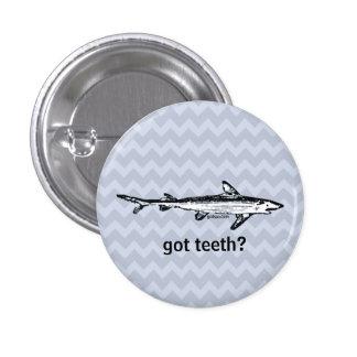Dentes obtidos? Botão Bóton Redondo 2.54cm