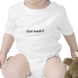 Dentes obtidos? babadores