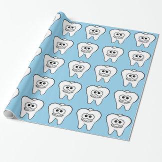 Dentes Papel De Presente