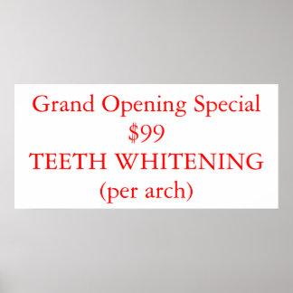Dentes que Whitening Pôster