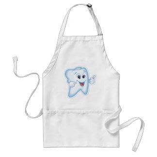 Dentes saudáveis avental