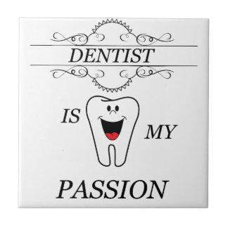 Dentista Azulejo Quadrado Pequeno