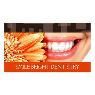 Dentista, cartão de visita da odontologia